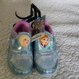NWT Frozen II Girls Shoes